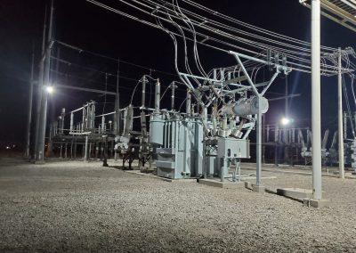 Instalación eléctrica de iluminación