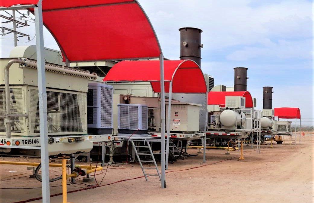 Instalación de equipos de enfriamiento evaporativo