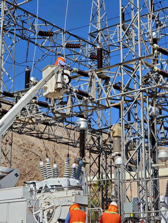 Mantenimiento a Cuchillas en Subestación de 69 kV